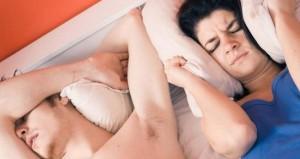 Snoring disturbing family